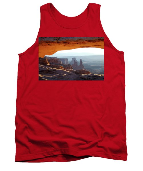 Sunrise At Mesa Arch Tank Top