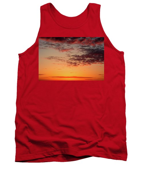 Tank Top featuring the photograph Sunrise At Treasure Island by RC Pics
