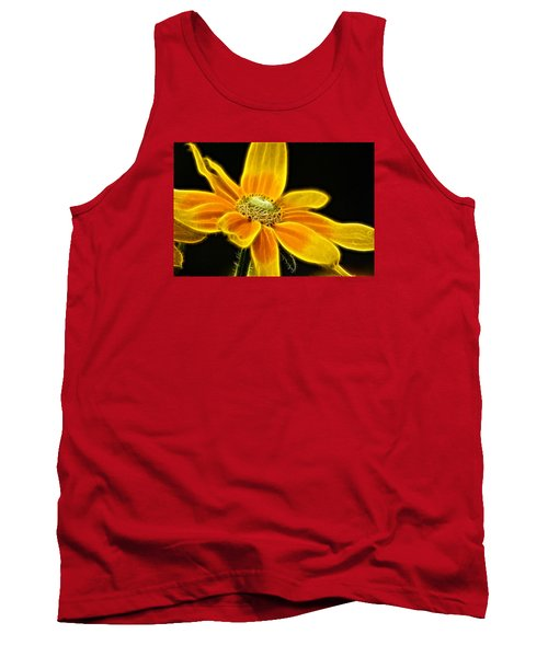 Tank Top featuring the photograph Sunrise Daisy by Cameron Wood