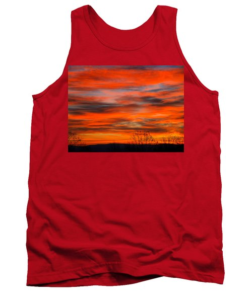 Sunrise In Ithaca Tank Top by Paul Ge