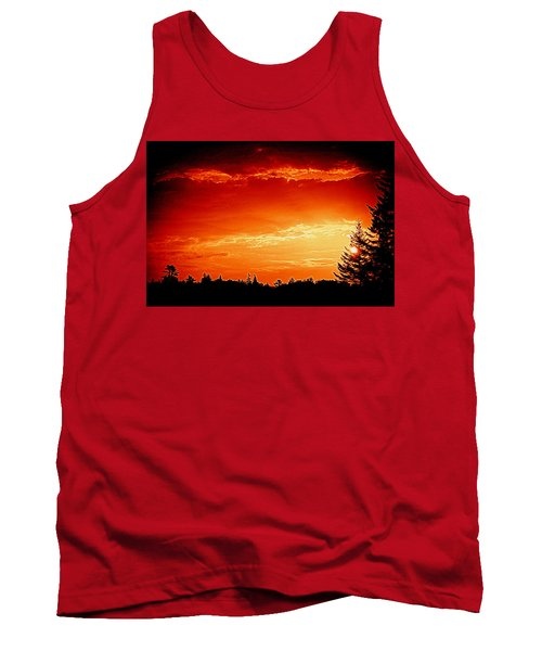 Sunrise In Southport Maine Tank Top