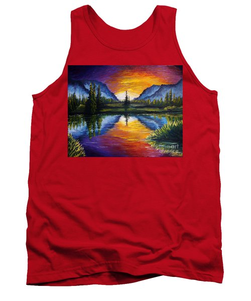 Sunrise Of Nord Tank Top