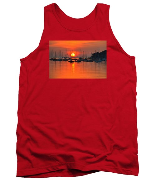 Sunrise On Salem Harbor Salem Ma Tank Top
