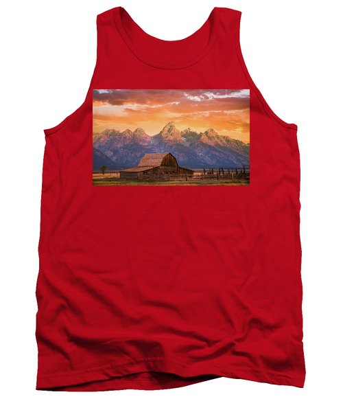 Sunrise On The Ranch Tank Top