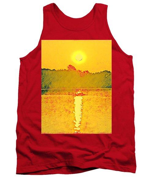 Sunrise On Town Lake Tank Top