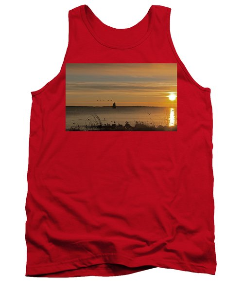 Sunrise Over New Bedford Tank Top