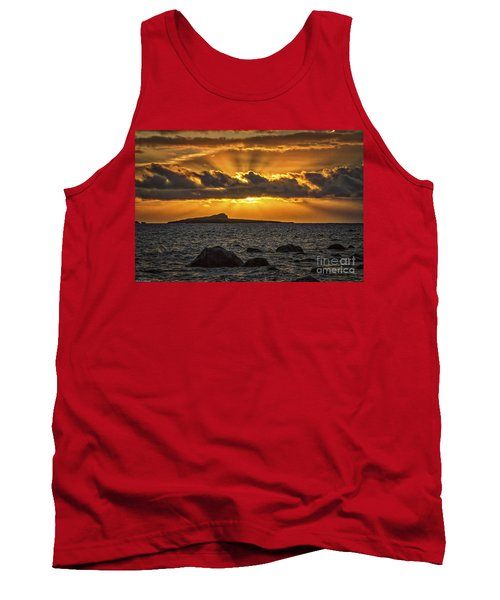 Sunrise Over Rabbit Head Island Tank Top by Mitch Shindelbower