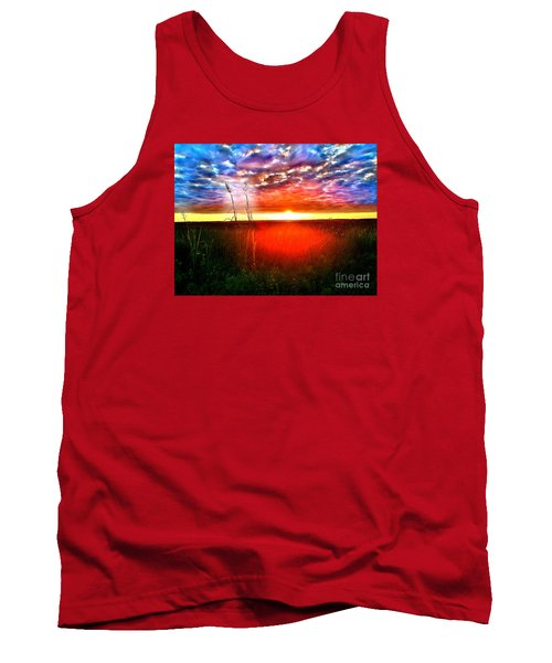 Sunset Tank Top by Amy Sorrell