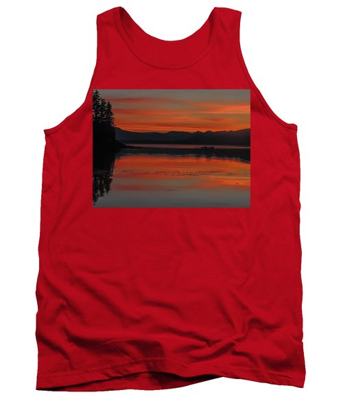 Sunset At Brothers Islands Tank Top