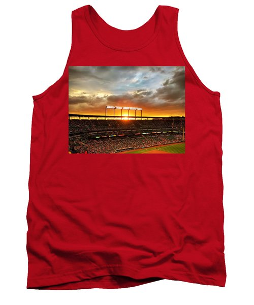Sunset At Camden Yards Tank Top