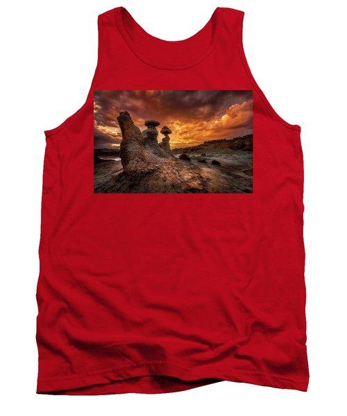 Sunset At Goblin Valley Tank Top