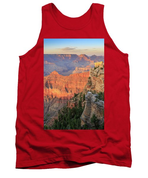 Tank Top featuring the photograph Sunset At Mather Point by David Chandler