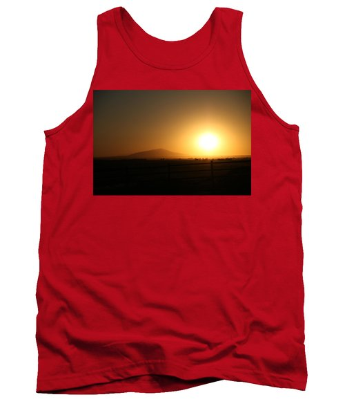 Sunset At Roswell New Mexico  Tank Top