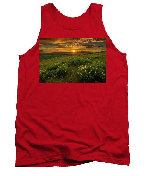 Sunset At Steptoe Butte Tank Top