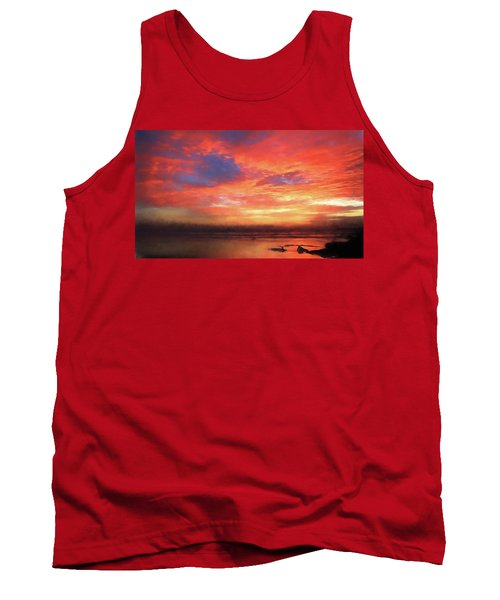 Sunset At The Beach Tank Top