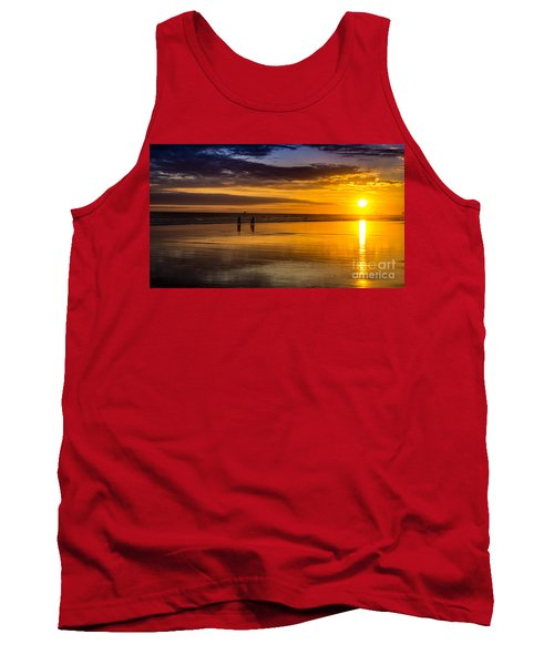 Sunset Bike Ride Tank Top