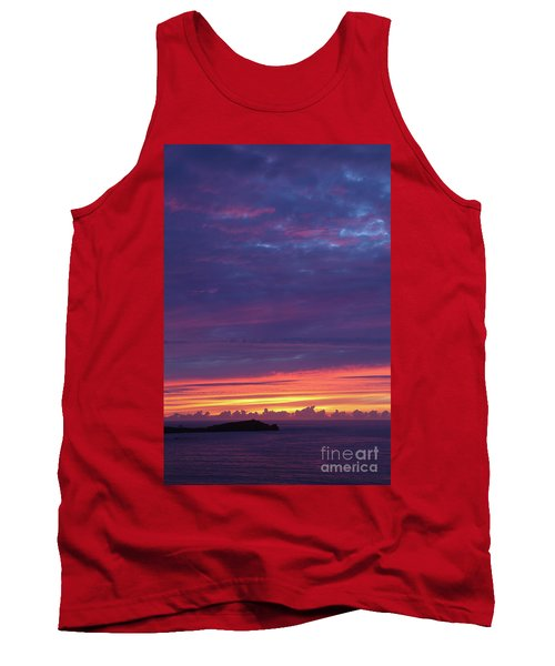 Sunset Clouds In Newquay, Uk Tank Top by Nicholas Burningham