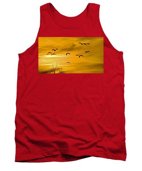 Sunset Fliers Tank Top