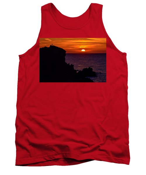 Sunset From Costa Paradiso Tank Top