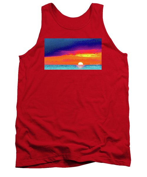 Sunset In Abstract  Tank Top