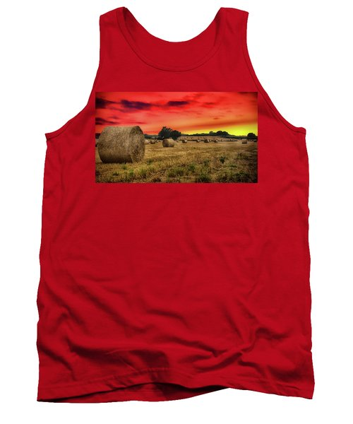 Sunset In The Hay Tank Top