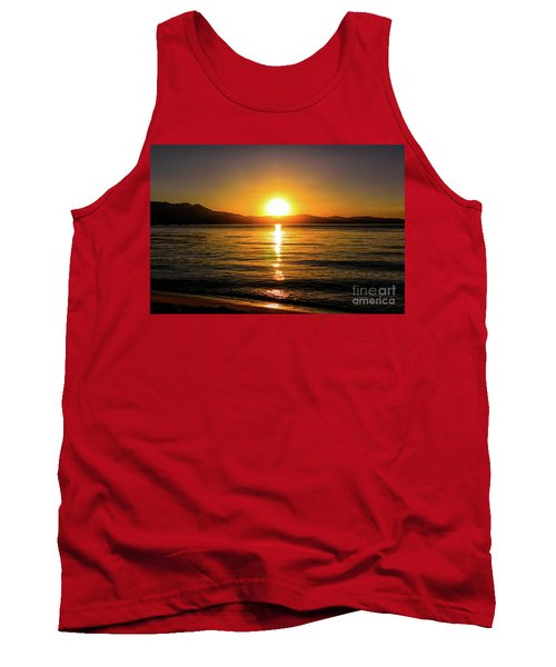 Sunset Lake 1 Tank Top