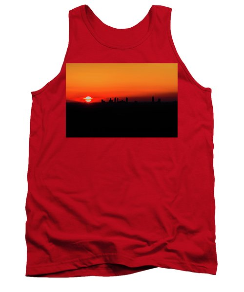 Sunset Over Atlanta Tank Top