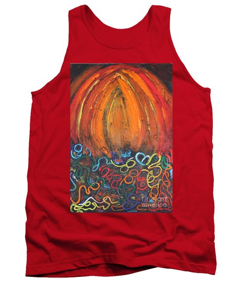 Sunset Over Key West Tank Top
