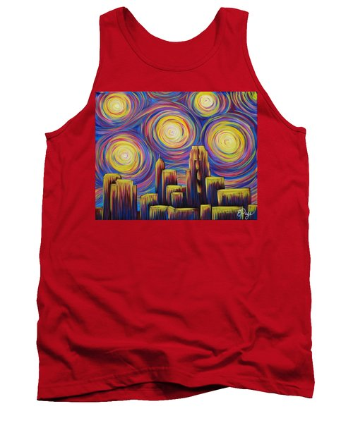 Sunset Over Raleigh Tank Top