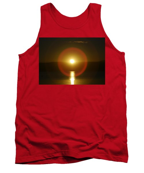 Sunset Over The Lake Tank Top