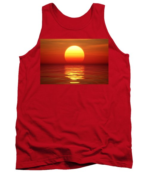 Sunset Over Tranqual Water Tank Top