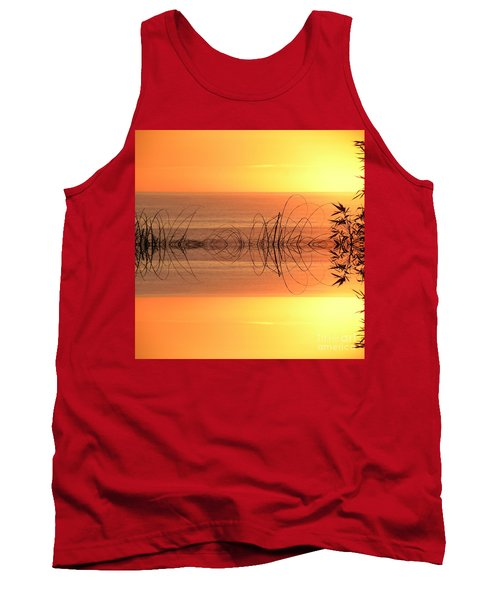 Sunset Reflection Tank Top by Sheila Ping