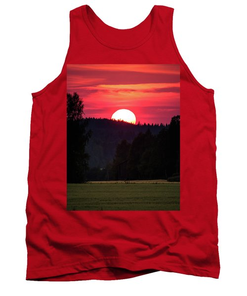 Sunset Scenery Tank Top