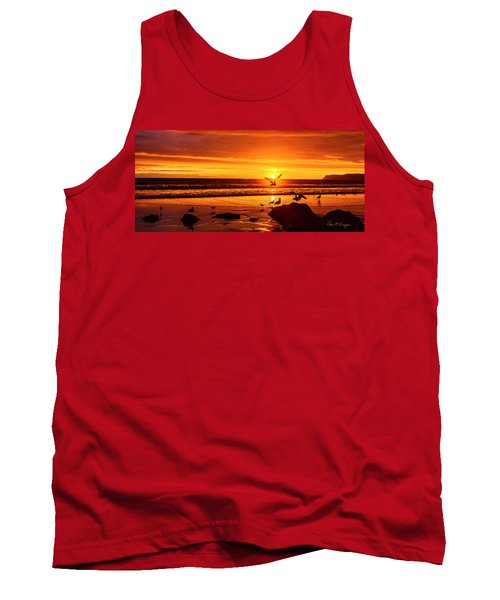 Sunset Surprise Pano Tank Top