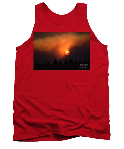 Sunset Through Smoke Tank Top