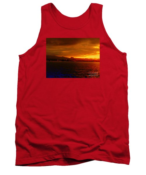 Sunset West Africa Tank Top by John Potts