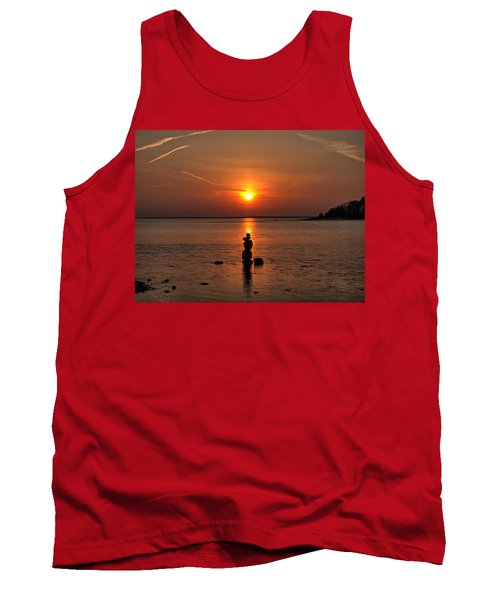 Sunset Zen Tank Top