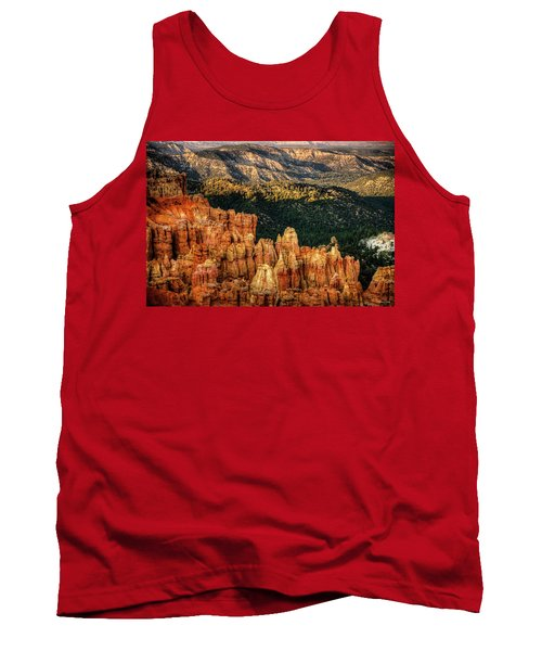 Sunsets In The Canyon Tank Top by Rebecca Hiatt