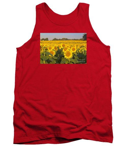 Sunshine Flower Field Tank Top