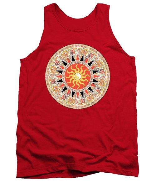 Sunshine Mandala Tank Top