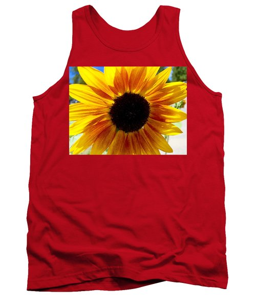 Sunshine Sunflower Tank Top