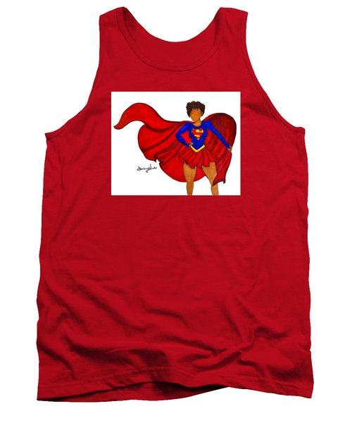 Superwoman I Am  Tank Top by Diamin Nicole