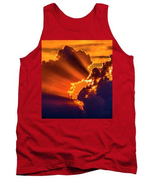 Sweet Nebraska Crepuscular Rays 010 Tank Top