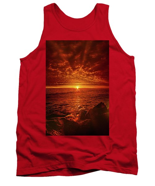Tank Top featuring the photograph Swiftly Flow The Days by Phil Koch