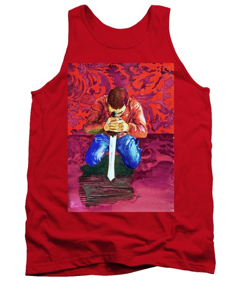 Swords On The Playground Tank Top