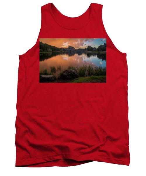 Tank Top featuring the photograph Sylvan Lake by Gary Lengyel