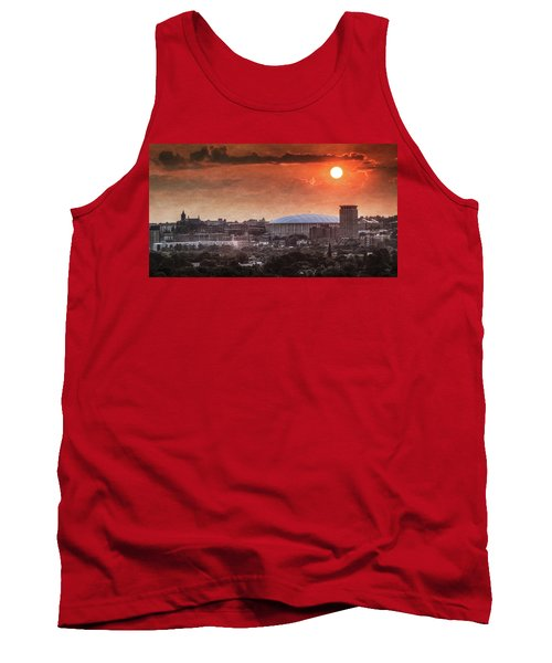 Syracuse Sunrise Over The Dome Tank Top by Everet Regal