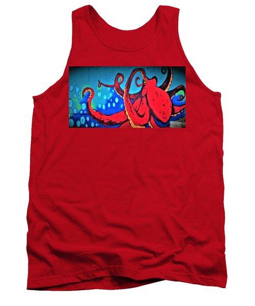 Tacoma Octopus  Tank Top