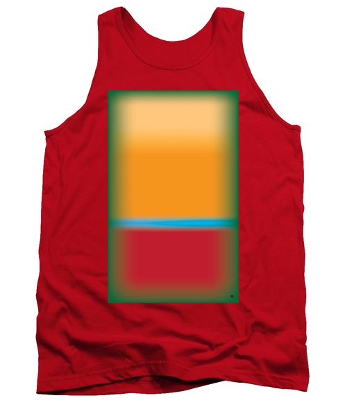 Tall Abstract Color Tank Top