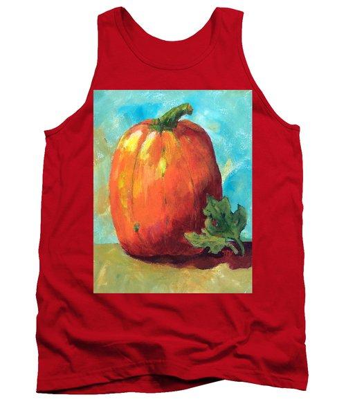 Tall Pumpkin Tank Top